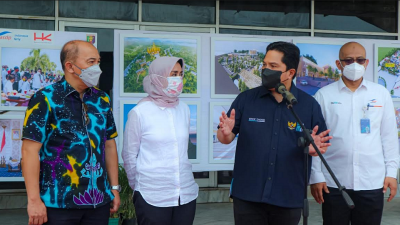 Bakauheni Harbour City, Erick Thohir: Jadi Lokomotif Ekonomi Warga Lampung