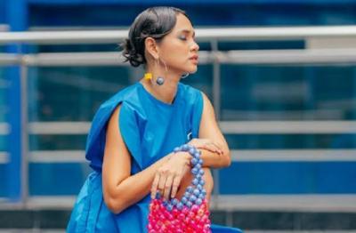 Penampakan Fashion Colorful ala Andien Aisyah, Bisa Dicontek Lho!
