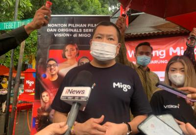 Kunjungi Warung Migo, Hary Tanoesoedibjo: Berikan Hiburan dan Dijangkau Masyarakat