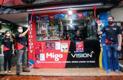 Vision+ Gandeng Migo, Presdir Migo Indonesia: Bisa Download Film di Warung dengan Cepat