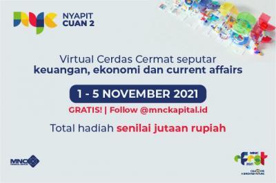 """Ikuti """"Nyapit Cuan 2"""" MNC e-Fest 2021 Berhadiah Jutaan Rupiah, Ini Link Registrasinya!"""
