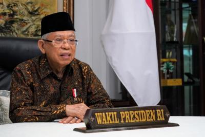 Wapres Maruf Amin: Indonesia Tetap Kokoh di Tengah Pandemi Covid-19