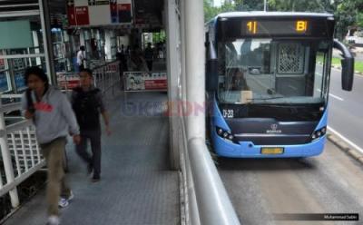 Layanan Bus Transjakarta Rute Stasiun Manggarai - UI Depok  4B  Kembali Beroperasi