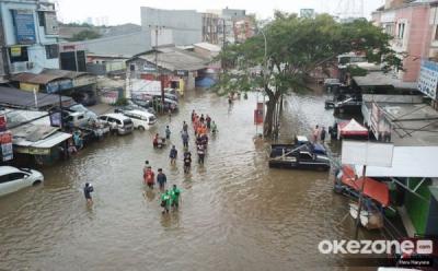 Hujan Deras, Ini Lokasi Rawan Banjir Musiman di Bekasi