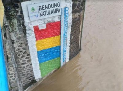 Bogor Hujan Seharian, Kondisi Bendung Katulampa Masih Normal
