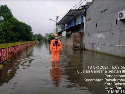 Hujan Lebat, 2 Perumahan di Bekasi Terendam Banjir