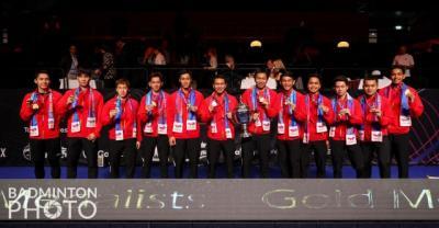 Indonesia Juara Piala Thomas 2020: Menteri, Gubernur hingga Artis Beri Selamat