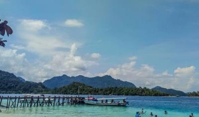 Mengenal Pagang, Destinasi Wisata Sekaligus Pulau Mitigasi Bencana