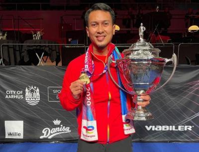 Indonesia Juara Piala Thomas 2020, Mohammad Ahsan: Alhamdulillah Yaa Allah, Barakallah