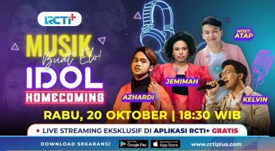 Jemimah, Kelvin dan Azhardi Idol Mampir Ke Musik Buat Elo!