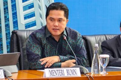 Beri Waktu 1 Tahun, Erick Thohir Bakal Rombak Direksi-Komisaris BUMN Klaster Pangan
