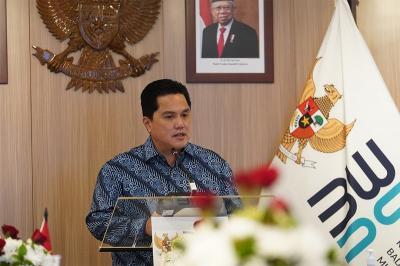 RI Punya Badan Pangan dan Holding BUMN, Erick Thohir: Kualitas Kita Luar Biasa