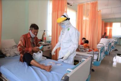 Kini Keterisian Tempat Tidur RS di Seluruh Indonesia di Bawah 5%