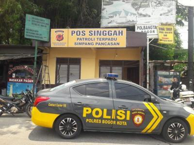 Minimalisir Tindak Kriminal, Polisi Bangun Pos Singgah