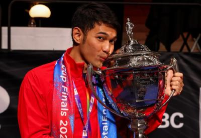 Bendera Merah Putih Tak Berkibar, Fajar Alfian Akui Kemenangan di Piala Thomas 2020 Kurang Sempurna