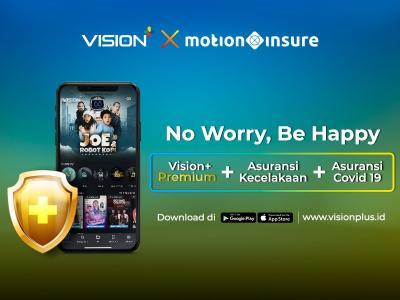 Vision+ x MotionInsure Berikan Proteksi Jiwa ke Pelanggan, Begini Caranya!