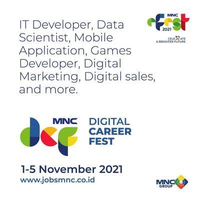 """Job Seekers, Cek Bursa Ratusan Lowongan Kerja """"MNC Group Digital Career Fest"""" 1-5 November di Sini!"""