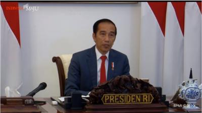 RI Diuntungkan saat Dunia Krisis Energi! Presiden Jokowi: Yang Punya Batu Bara-Sawit Senang