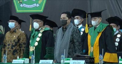 Erick Thohir ke Rektor: Tak Mungkin Mengeluarkan Mahasiswa tapi Lapangan Kerja Tidak Tercipta