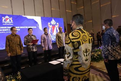 Sah! 1.401 Dewan Pengurus Kadin Indonesia Resmi Dilantik, Berikut Susunannya
