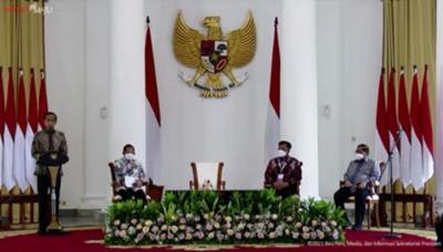 Presiden Jokowi Buka APKASI Otonomi Expo 2021