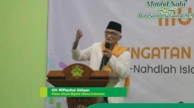 Ketum MUI Ajak Umat Islam Bersuka Cita Saat Maulid Nabi Muhammad SAW