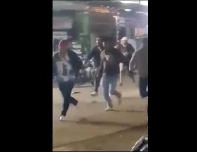 Ormas dan Debt Collector Saling Serang dengan Sajam di Tangerang