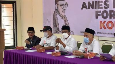 Relawan Berkaos Putih Deklarasikan Dukung Anies Baswedan Jadi Capres 2024