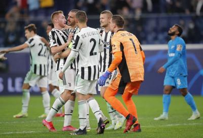Kacau! Juventus Kalahkan Zenit, Bonucci Sindir Cristiano Ronaldo