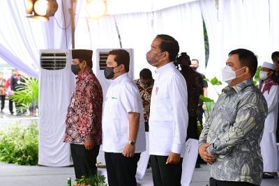 Resmikan Pabrik Biodiesel, Presiden Jokowi dan Erick Thohir Kompak Putus Ketergantungan Impor