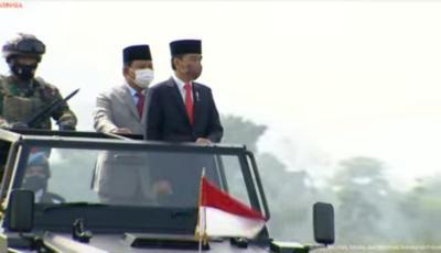 Prabowo Sebut Kebijakan Pertahanan Presiden Jokowi Cemerlang