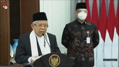 Kasus Covid-19 Menurun, Wapres Paparkan Bukti Perekonomian Indonesia Mulai Pulih