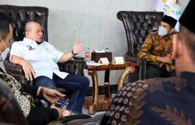 Apresiasi Kiprah LaNyalla, FKSI Setuju Peran DPD RI Diperkuat