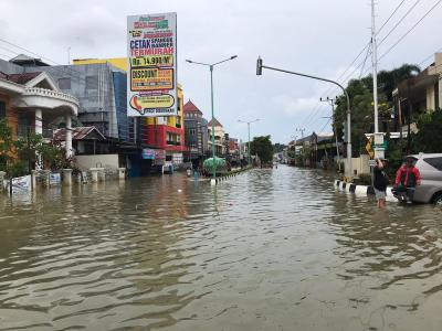 Kota Samarinda Dikepung Banjir