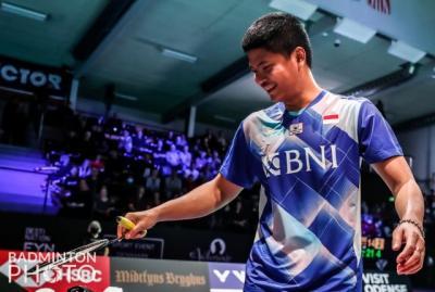 Momen Tak Biasa, Raket Praveen Jordan Patah saat Singkirkan Wakil Malaysia di Denmark Open 2021