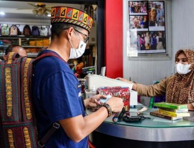 Lezatnya Bikin Nagih, Sandiaga: Saya Ingin Lihat Ada Mie Aceh di New York dan London