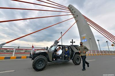 Keren! Jembatan Sei Alalak Jadi Destinasi Wisata Instagramable di Banjarmasin