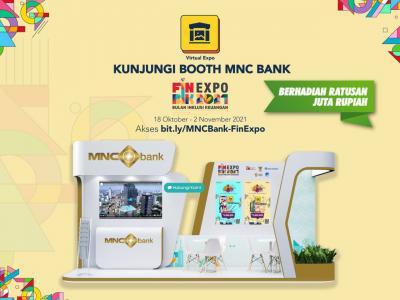 Virtual FinExpo BIK 2021, MNC Bank  BABP  Tebar Hadiah Ratusan Juta Rupiah