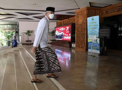 Mengenal Motif Sarung Batik Ganjar Pranowo, Apa Maknanya?