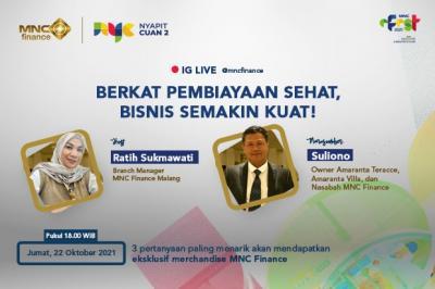 "Ada Bocoran Pertanyaan ""Nyapit Cuan 2"" MNC e-Fest, Simak IG Live MNC Finance Pukul 18.00!"