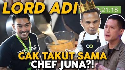 Lord Adi Ditantang Robby Purba Bikin Kopi 1 Menit!