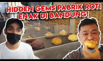 Kulineran di Bandung, Intip Toko Roti Antik di Dalam Gang!
