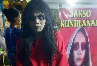 Heboh Kuntilanak Jualan Bakso di Palembang, Berani Beli?