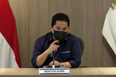 Erick Thohir Transformasi BUMN Pangan, RI Tak Lagi Ketergantungan Impor
