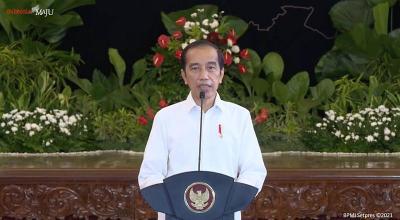 Luncurkan Logo Baru Masyarakat Ekonomi Syariah, Ini Harapan Presiden Jokowi