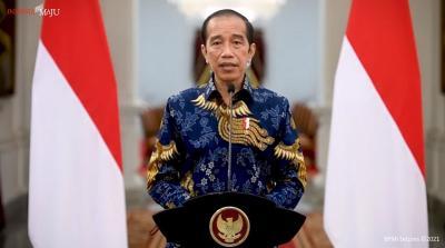 Presiden Jokowi : Selamat Hari Santri, Selamat Berkontribusi untuk Kemajuan Negeri