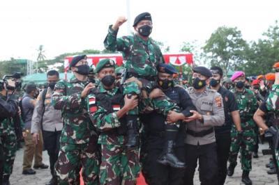 Panglima Hadi Tjahjanto: Terima Kasih Atas Pengorbanan Seluruh Prajurit TNI dan Anggota Polri