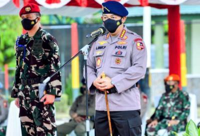 Sapa Prajurit TNI-Polri di Papua, Kapolri: Berikan Pengabdian Terbaik kepada Bangsa dan Negara