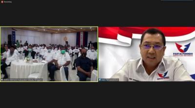 Buka Rapimwil Maluku, Hary Tanoesoedibjo: Partai Perindo Konsisten Perjuangkan Kesejahteraan Rakyat