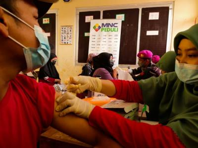 MNC Peduli Gelar Vaksinasi Massal di Bogor